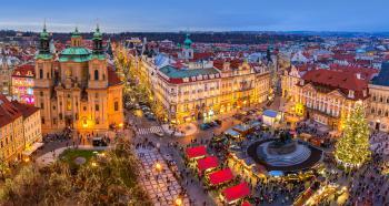 Adventní plavba po Vltavě