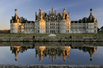 chateau de Chambord, Zámek v údolí Loiry