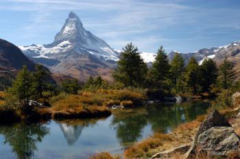 Švýcarsko - Matterhorn