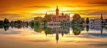 Romantické zámky Dánska a Hanzovní města Německa
