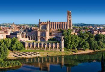 Perly francouzské gotiky (Toulouse  - Carcassonne - Albi)