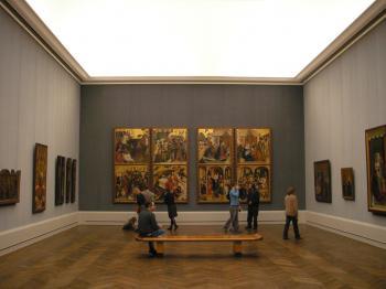 Berlínská výstava - Pozdní gotika