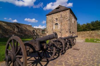 Město Cheb, hrad Seeberg a Františkovy Lázně
