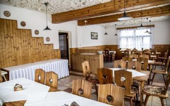 Hotel Na stráži, Hojsova Stráž, restaurace