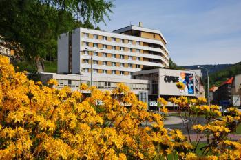 Hotel Curie, Lázně Jáchymov