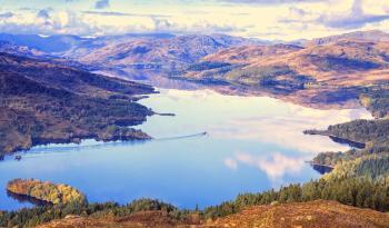 národní park The Trossachs, Loch Lomond