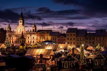 České Budějovice, Advent