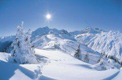 rakousko zima -