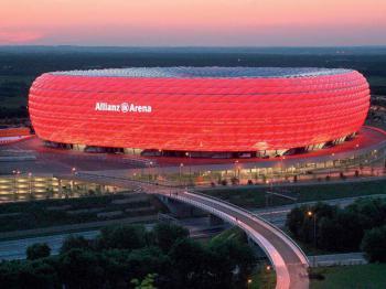 Allianz arena Mnichov