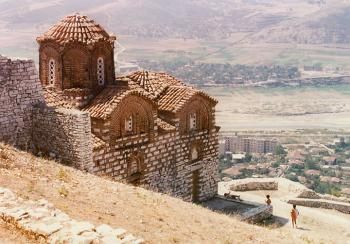 Berat - kostel