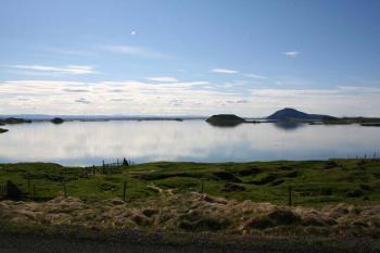 Jezero Mývatn -