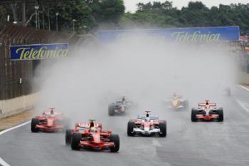 Velká cena Brazílie, Formule 1 a Rio de Janeiro, letecky