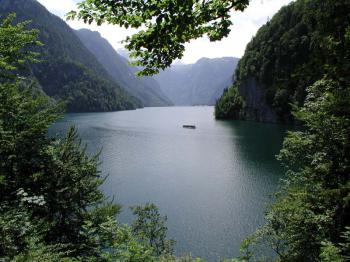 jezero Königsee -