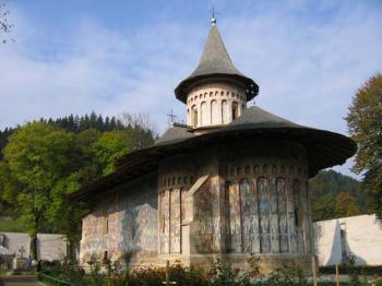 klášter Voronet -