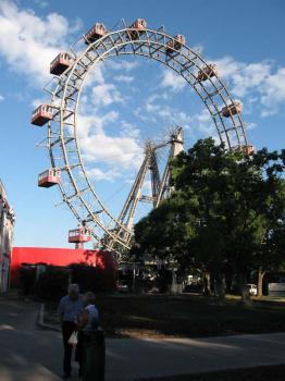 Vídeň - obrovské kolo v Prátru