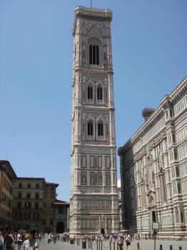 Florencie, Campanille di Giotto