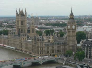Big Ben a Westminsterský palác