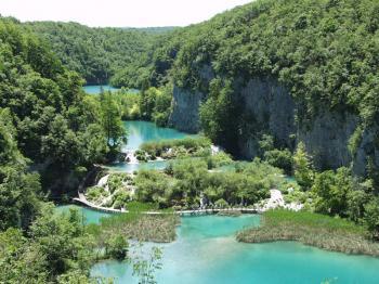 NP Plitvická jezera -