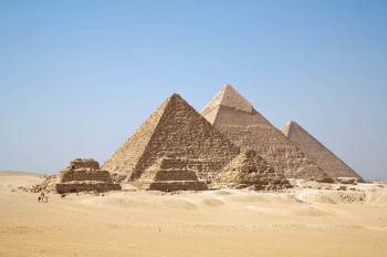 Pyramidy v Gíze -