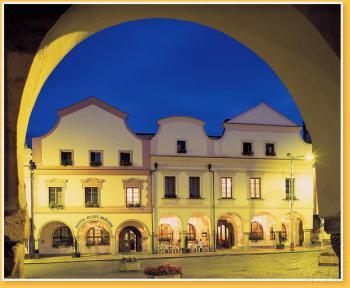 Hotel Zlatá Hvězda, Třeboň