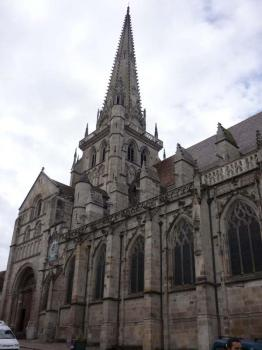 Autun - katedrála sv. Lazara