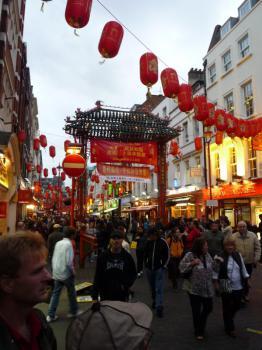 Londýn - Čínská čtvrť