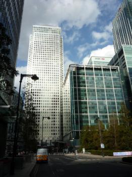 Londýn - Canary Wharf, Moderní tvář Londýnských Docklands