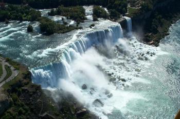 Niagarské vodopády -