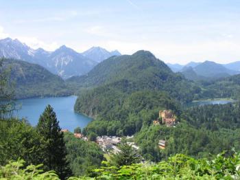 zámek Hohenswangau -