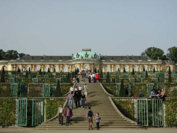 Postupim - zámek Sanssouci