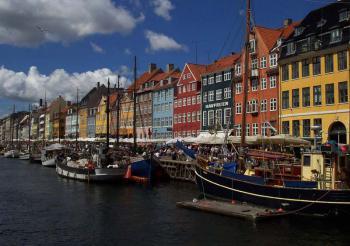 Kodaň - přístav Nyhavn