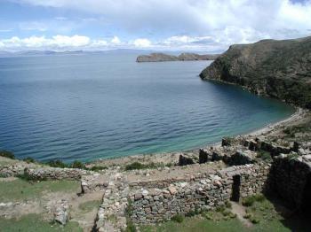 jezero Titicaca -