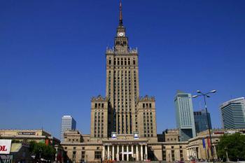 Varšava - Palác vědy a kultury