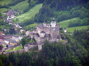 hrad Hohenwerfen -