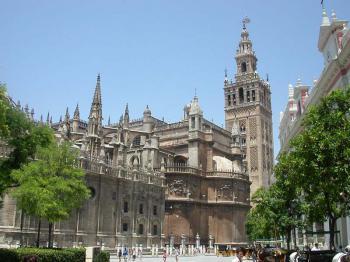 Sevilla - katedrála de Indias