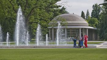 Poděbrady, Lázeňský park