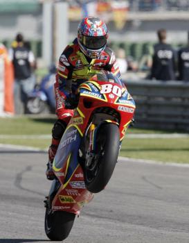 Moto GP Valencie, letecky