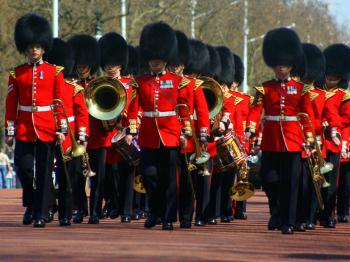 London, guards