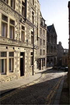 Edinburgh, Královská míle - historicke centrum Edinburghu