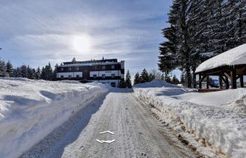 Hotel Belveder, Železná Ruda, Silvestr