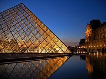 Leonardo da Vinci v Paříži