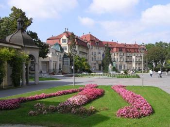 Piešťany - lázeňský park