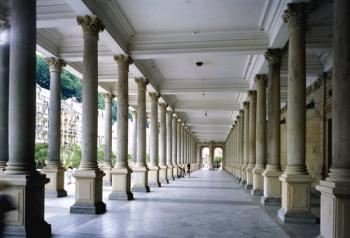 Karlovy Vary kolonáda -