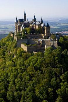 hrad, Hohenzollern