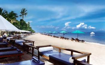 Sanur Beach - pláž