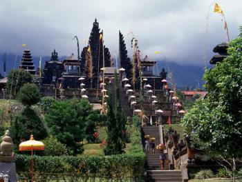 Bali, chrám Besakih -