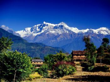 Nepál a trek v Himalájích (expedice)