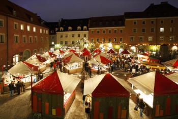 Regensburg, vánoční trhy