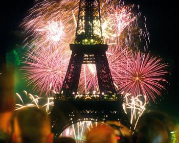 Paříž Silvestr