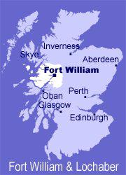 Fort William - mapka